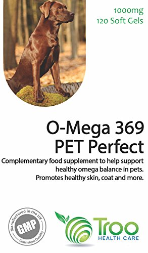 Omega 369 Pet Perfect Omega Fish Oil - for Dogs and Cats - 1000mg 120 Capsules | Daily Omega 3 6 9 Supplement for Pets… 3