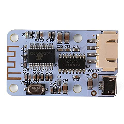 XCSOURCE Bluetooth Audio 2x3 Watt Receiver Amplifier Board Stereo Left/Right Channel with Micro USB Interface DC 5V