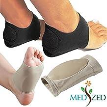 MEDIZED - Vendaje elástico para fascitis plantar y órtesis para dolor de arco y talón