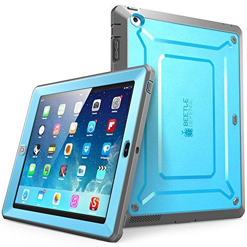 Supcase Sup-iPad4-BeetlePro-Blue/Black Tablet-Schutzhülle, Apple-ipad-3 Apple-ipad-4 ipad, blau/schwarz, Stück: 1 (2-case Apple Blue Ipad)
