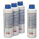 Bosch 00311566 Vorteilspaket 4x Maschinenpfleger für Waschmaschinen 4x 250 ml
