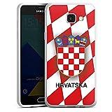 DeinDesign Samsung Galaxy A5 (2016) Silikon Hülle Case Schutzhülle Kroatien Em Trikot Football Fussball