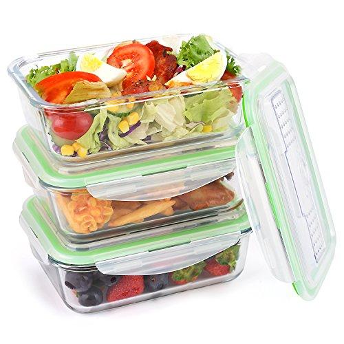 Symbom-Ensemble-de-rcipients-de-prparation-de-repas-de-verre-Premium-avec-couvercles-anti-adhrents-sans-BPA-tanche–lair-anti-tincelant-micro-ondes-four-conglateur-coffre-fort-1000ml-rectangle-avec-un