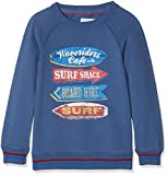 Fat Face Boy's Surf Graphic Crew Sweatshirt, (Slate Blue Blu), Years (Size: 10-11)