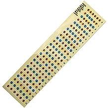 SODIAL Adhesivos de nota de diapason de guitarra Pegatina del mapa de trastes de diapason para