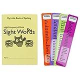 Libro con la ortografía de 300palabras muy frecuentes, con 4 marcadores, listas dolce para dislexia