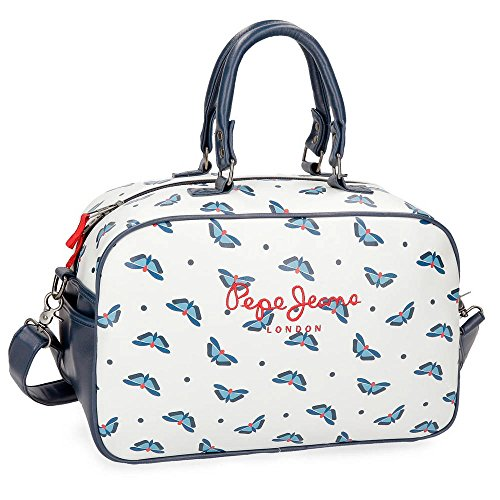 Pepe Jeans Feli White Travel Bag