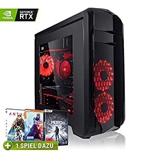 Megaport High End Gaming PC Intel Core i7-8700 • Nvidia GeForce RTX2060 6GB • 480 GB SSD • 16GB DDR4 • Windows 10 • WLAN • Gamer pc Computer Gaming Computer rechner