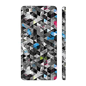 Enthopia Designer Hardshell Case Smoky Triangles Back Cover for Huawei P8 Lite
