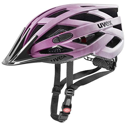 uvex Unisex- Erwachsene, i-vo cc Fahrradhelm, berry matt, 52-57 cm