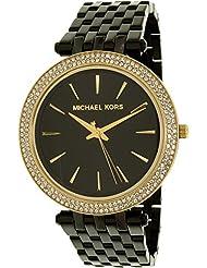 Michael Kors Women's Darci MK3322 Black Stainless-Steel Quartz Fashion Watch