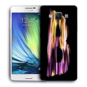 Snoogg Flaming 3D Letter Designer Protective Back Case Cover for Samsung Galaxy ON5