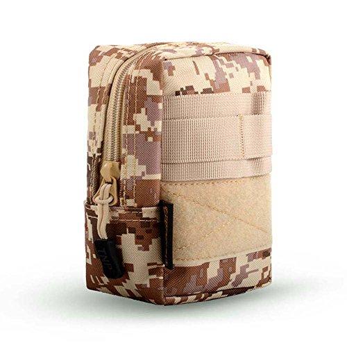 ZHANGRONG- Sacchetto di pendolari all'aperto Tifosi militari multifunzionali tasche Allegato al pacchetto Arrampicata trasporta una borsa (Opzionale a colori) ( Colore : 5 ) 2