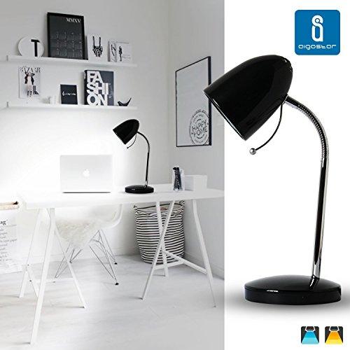 Aigostar 182212 - Lámpara de mesa tipo flexo de diseño retro