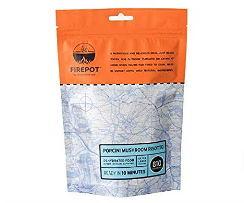 FIREPOT by Outdoorfood - Porcini Mushroom Risotto (Extra Large) - Healthy Dehydrated Expedition Food