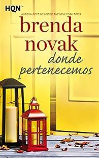 Donde pertenecemos par Brenda Novak