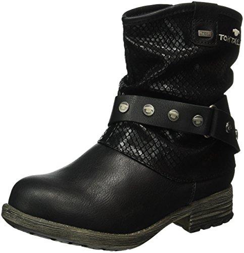 tom-tailor-1670906-bottes-mi-hauteur-avec-doublure-chaude-fille-noir-black-38