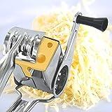 Easy Make ku6269molinillo rallador a tambor de queso inox plata 19, 50x 5, 50x 7, 80cm)