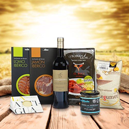 Cesta regalo con productos Gourmet de Castilla y León - 2