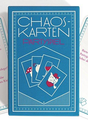 Chaoskarten Partyspiel - Das Original - 51 Aufgaben für eine lustige Party