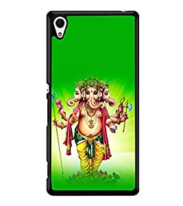 printtech Lord God Ganesha Back Case Cover for Sony Xperia Z3 Plus , Sony Xperia Z3+