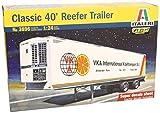 Italeri 3896 - Reefer Trailer 40ft (Classic) Model Kit  Scala 1:24