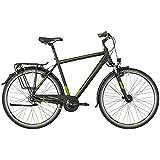 Bergamont Horizon N8 CB Herren Trekking Fahrrad schwarz/grün 2018: Größe: 48cm (164-170cm)