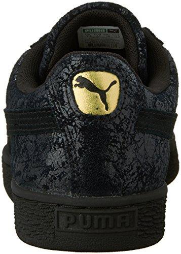 Puma Suede Remaster Daim Baskets Puma Black-Puma Black