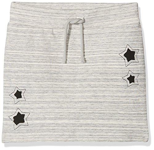 NAME IT Mädchen Rock Nkfjatar Unb Swe Slim Skirt, Grau (Grey Melange), 134