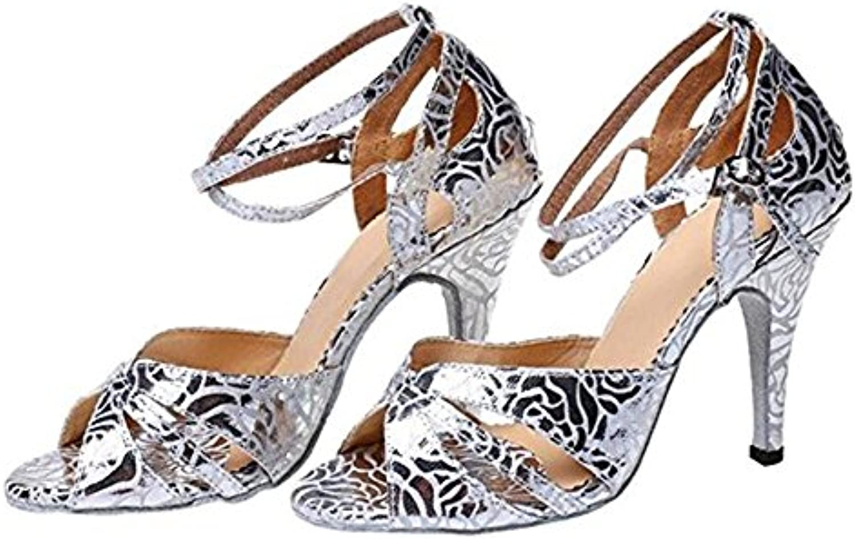 TGKHUS Sandalias Sra. Soft Dance Leather Respirable Slip