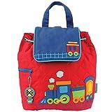 Stephen Joseph Children's Quilted Backpacks Mochila Infantil, 33 cm, 2 Liters, Rojo (Red)