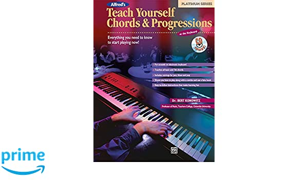 Buy Teach Yourself Chords And Progressions At The Keyboard Book