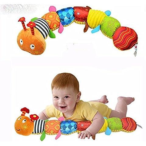 nutbio (TM) recomiendo paño multifuncional juguetes educativos Niños Bebé Sonajero de música mano marionetas animales para niños