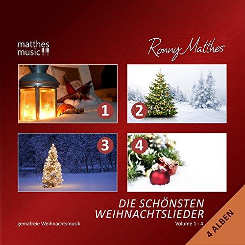 Die schönsten Weihnachtslieder, Vol. 1 - 4 - instrumentale Gemafreie Weihnachtsmusik