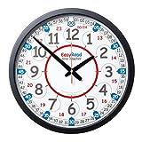 EasyRead time teacher ERPG-DIG Schule Spielplatz Uhr, 12-24 Stunden