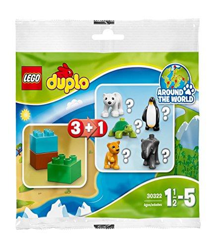 LEGO Spielset 30322, Mehrfarbig (Pinguin Lego Set)