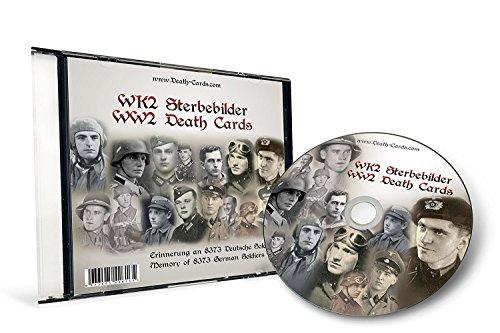 STERBEBILD CD - Erinnerung an 8.373 deutsche Soldaten des 2.Weltkrieg - DEATH CARDS