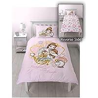 Disney Princess Imagine – Juego de Funda Nórdica con Diseño de Impresión, Multicolor Grande