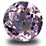 Morganite Pietra preziosa sciolto 0.36 ct Round Cut (5 x 5 mm) Brazilian Pink Morganite Natural Loose Gemstone