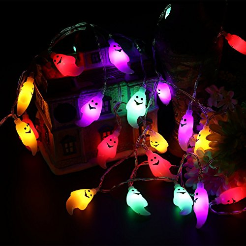 LED luz de Cadena Solar Fantasma