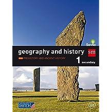 Geography and history. 1 Secondary. Savia: Murcia, País Vasco, Extremadura, Galicia, Madrid, Castilla y León, Asturias, Valencia, Cataluña, Ceuta. y Aragón y Castilla la Mancha - 9788416346707