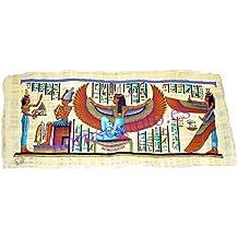 Horus Artesanía de Egipto ofrece Papiro reproducción del antiguo Egipto, original hecho y pintado a