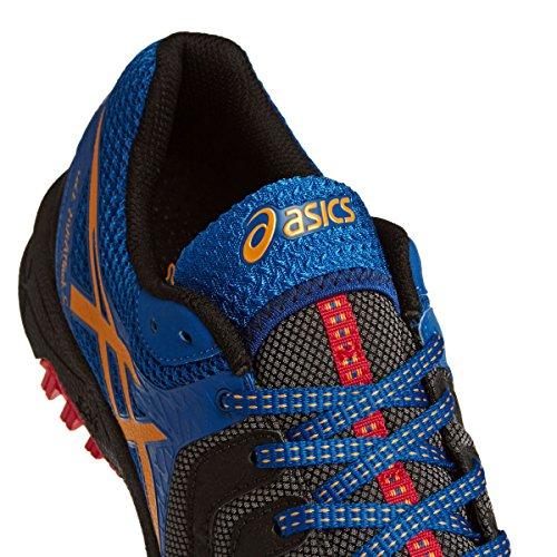 ASICS Gel-fujiattack 5 - Scarpe Running Uomo, Verde (green Gecko/black/orange 8590), 44 EU Black