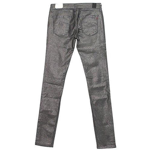 REPLAY Damen Jeans LUZ Skinny Silber silvergrey shiny