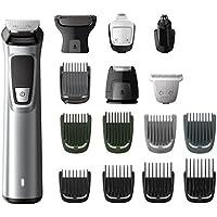 Philips MG7730/15 - Recortador de barba y precisión 16 en 1, tecnología Dualcut, para un recorte profesional, autonomía de 120 minutos