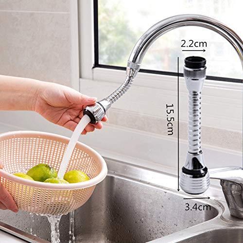 Dyson Ventil (P12cheng Wasserreinigungsfilter, verstellbarer Wasserhahn-Regler, Verlängerung, Wassersparend, Wasserhahn-Ventil, Filtersprüher)