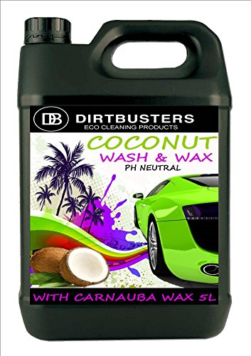 dirtbusters-ph-neutral-coconut-wash-and-wax-professional-car-cleaner-with-premium-grade-carnauba-wax