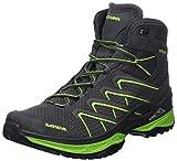 Lowa Ferrox Evo GTX Mid, Stivali da Escursionismo Alti Uomo, Grigio (Graphite/Limone 9706), 41 EU