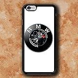 WEMNCVR BM Logo U Cas de téléphone Portable pour Coque iPhone 7 Plus/iPhone 8 Plus
