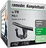 Rameder Komplettsatz, Anhängerkupplung starr + 13pol Elektrik für VW Polo (122280-08025-2)